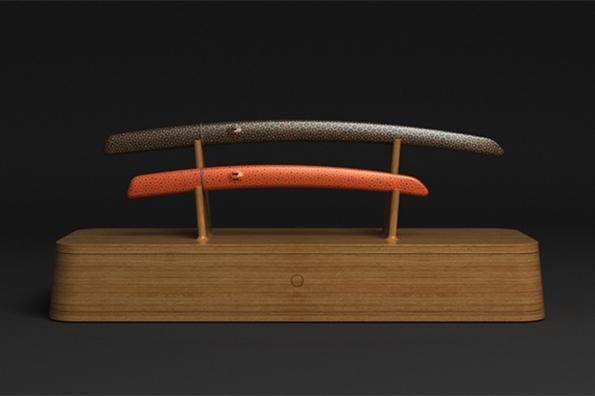 marc newson,designer,project,sabre,saber,aikuchi,luxe,luxury,tokyo art club,katana,wow studio,collaboration,art,craftman,japanese craftmanship