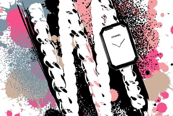 karl lagerfeld,chanel,horlogerie,horology,chanel première,première,première rock,montre,watch,rue cambon,direction artistique,fashion designer,luxe,luxury,coco chanel,gabrielle chanel,wertheimer,groupe wertheimer,baselworld 2015