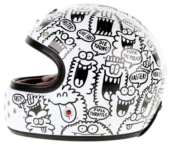 ruby,ateliers ruby,castel,kevin lyons,illustrator,designer,collaboration,colette paris,nouveautés,louis lumière,gabriel,saint germain,saint roc,news,collection,couleurs,coloris,colors,casques,helmet,face helmet,casque,intégral,casque intégral,jérome coste,dimitri coste,paris,luxe,luxury,pavillon,belvédère,fashion,mode,motorcycle,collaboration,karl lagerfeld,chanel,louis vuitton,colette,tron,palm springs,miami,nasa,corniche caraîbes,couleurs pastels,apollo,trident,el mirage,muroc