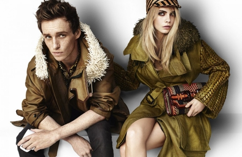 burberry,burberry prorsum,ss2012,ad campain,fashion,mode,luxe,spring,summer,trenchcoat,mario testino,christopher bailey,cara delevingne,eddie redmayne