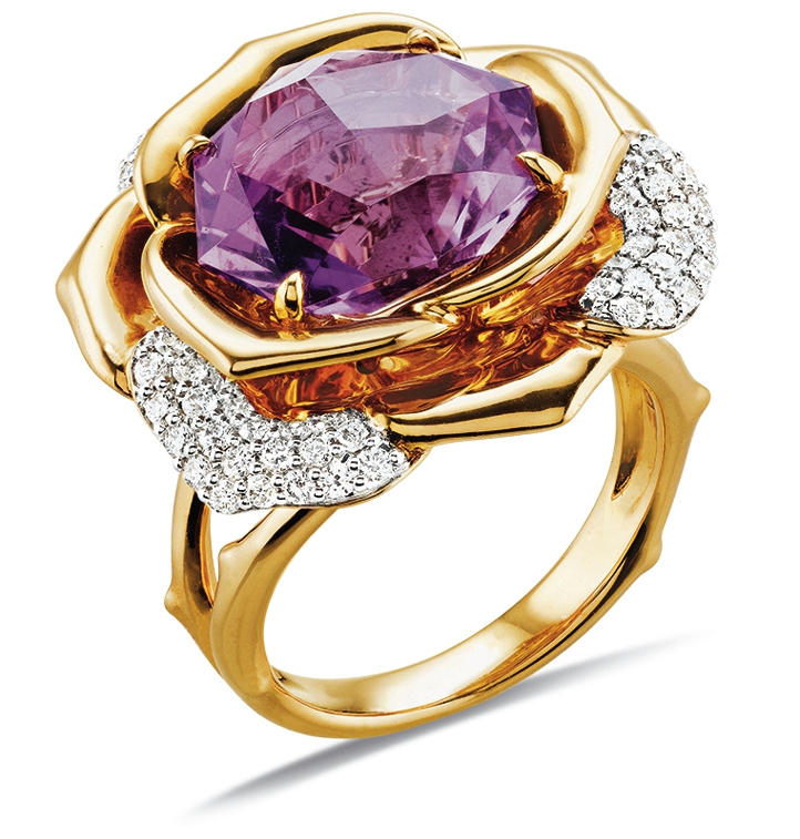 Gringoire Joaillier - ROSE - Bague Amethyste rose de France et diamants - BC2318AM-BTS.jpg