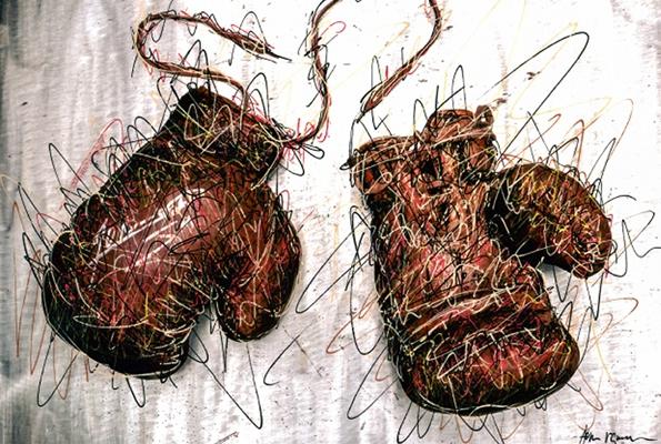 hom nguyen, hom, art contemporain, contemporain, projet, artist, artiste, paris, œuvre, exposition, curator, artiste contemporain, painting, peinture, atelier,jean-marc mormeck,boxe,le combat du siècel,galerie a2z,paris