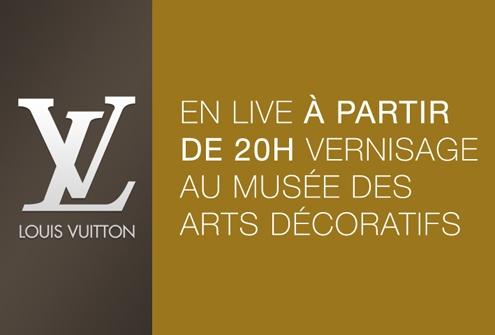 louis vuitton,marc jacobs,exposition,opening,fashion,luxe,femmes,women,musée,arts,décoratifs,paris,direct,live,live streaming