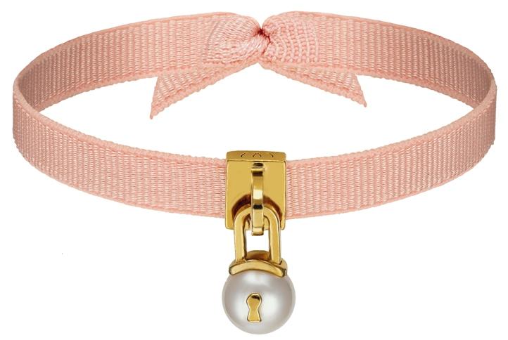 WORMS Paris - U'rband - Bracelet Perle Cadenas Rose poudré.jpg