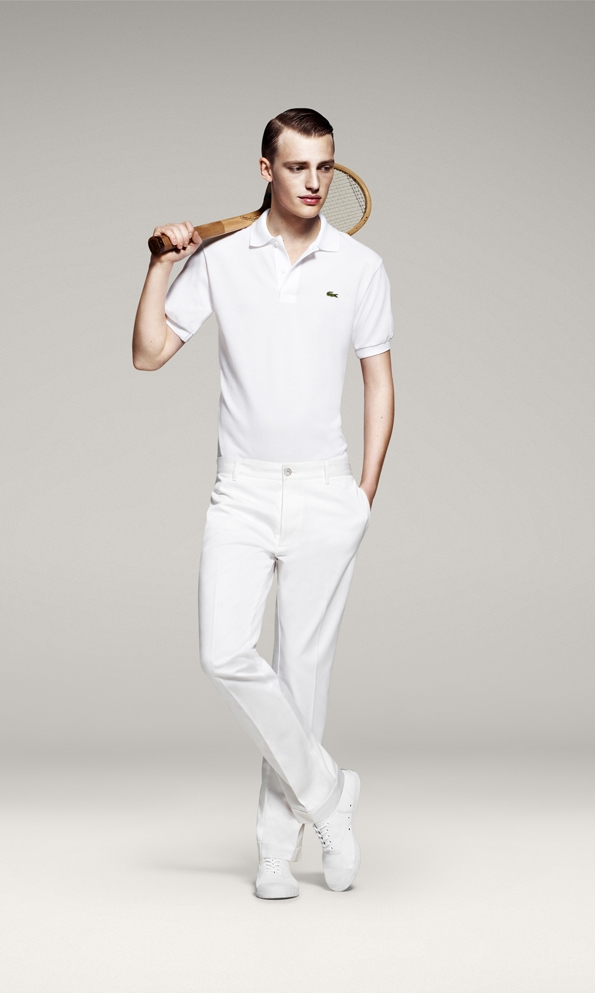 rené lacoste,crocodile,tennis,direction artistique,felipe oliveira baptista,lacoste,lacoste live,men,man,hommes,homme,uomo,fashion,mode,moda,polo l1212,l1212,80 ans,anniversary,anniversaire,collection,sportswear,fashion designer,france,preppy,casual,chic,fashion collection,pap,prêt à porter,ready to wear,rtw,spring,summer,printemps,été,2013,anniversaire,80 ans,anniversary