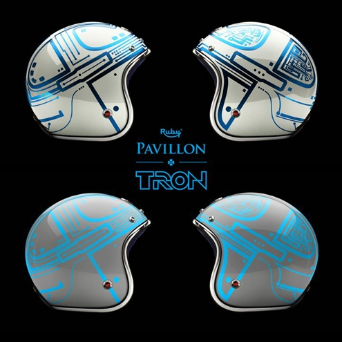 casque,ruby,tron,legacy,disney,movie,daft punk,luxe,fashion,tendance