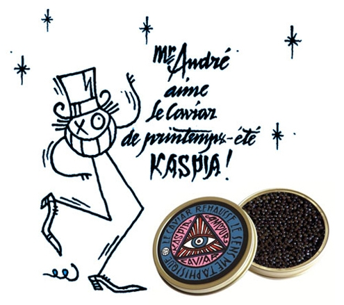 kaspia,caviar,caviar kaspia,maison kaspia,andré,hôtel amour,amour,graffeur,artiste,dandy,paris,jet set,champagne,champain,gastronomie,gastronomy,luxe,luxury,esturgeon,russe,iran,irak,acipenser baeri,friends of sea,graphic,chic,neo new age,direction artistique,édition limitée,limited,edition,giambattista valli,collector,collectors