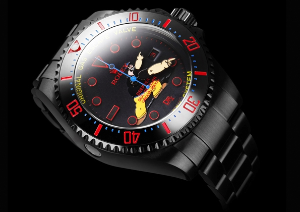 Elzie Crisler Segar,Popeye,Beetle Bailey,brutus,bamford,bamford watches, bamford, watch, bamford watch department, rolex,