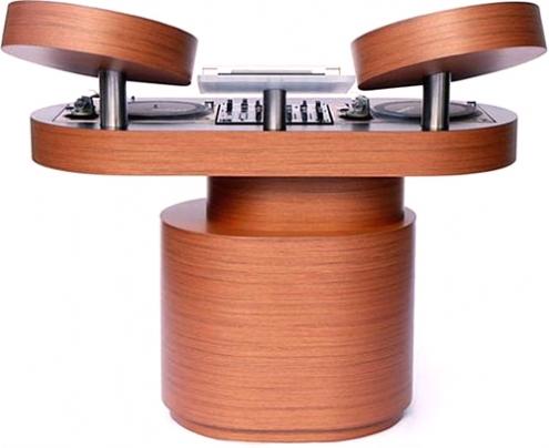 bespoke pour les dj par rodriguez dj tables - soblacktie - blog ... - Meuble Dj Design
