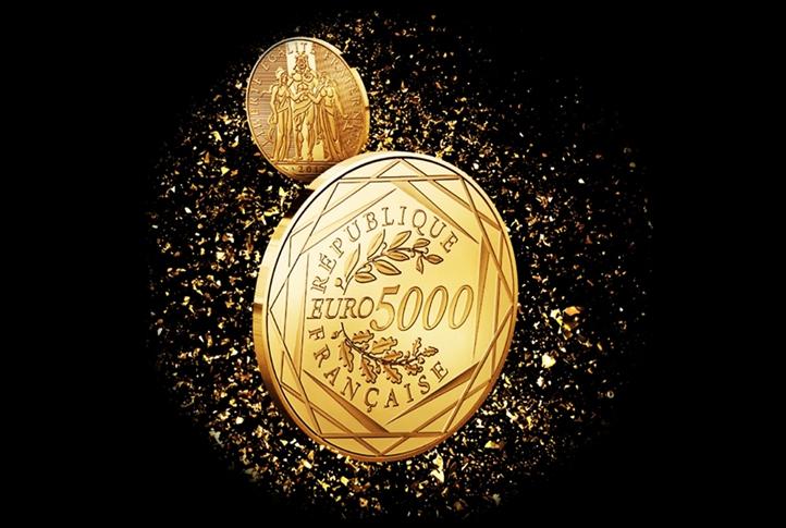 monnaie,paris,euros,5000 €,monnaie de paris,luxe,gold,silver,coin,rare,limited,fashion,arts,money,french,chanel,crises,crise,investissement,cpor devises,collectionneurs,investisseurs,numismates,joaquin jimenez