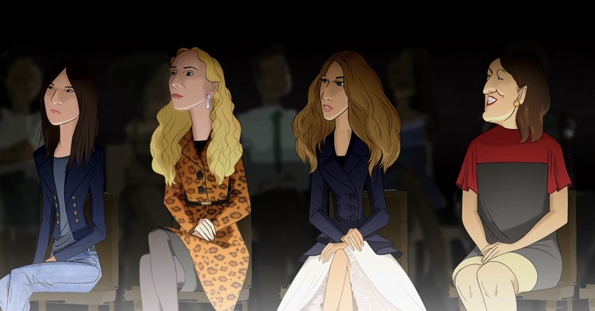 Disney,Barneys,New York,Electric Holiday,animated,short movie,movie,holidays,christmas,fashion,mode,Steven Meisel, Carine Roitfeld, Nicholas Ghesquière,Balenciaga, Sarah Jessica Parker, Naomi Campbell, Alber Elbaz,Lanvin, Emmanuelle Alt, Suzy Menkes,Franca Sozzani,paris,luxury,luxe,bryan boy