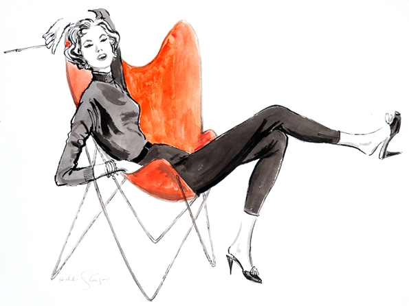 hilda glasgow,fashion,mode,illustratrice,illustrator,luxe,luxury,designer,fashion magazine,magazine de mode,illustrer,tendances,trends