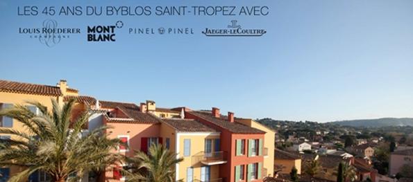 byblos,anniversary,saint tropez,louis roederer,montblanc,pinel & pinel,jaeger lecoultre