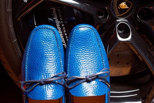 car shoe,prada,gruppo prada,lamborghini,limited,edition,50,anniversary,mocassin,loafer,tassel,luxury,luxe,fashion,blancpain,aventador,gallardo,miura,countach,diablo,espada,marzal,jalpa