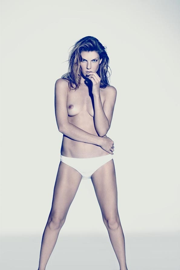 Angela Lindvall,Randall Slavin, éditorial mode, editorial, fashion editorial, fashion photographer, photographer, photographe, photographe de mode, mode, fashion, sexy, modeling, modèle, luxe, luxury, portrait, glamour, mannequin, lovely,naked,bare,panties, glamorama, winter, chic, paris