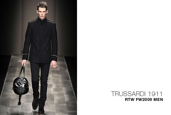 trussardi,trussardi 1911,collection,homme,automne,hiver,2009-2010