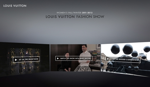 louis vuitton,fashion,show,digitale,innovation,marc jacobs,lvmh,paris,backstage,facebook