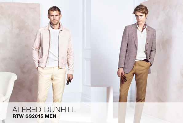 dunhill,alfred dunhill,john ray,london,londres,savilerow,tailleur,tailor,élégance,direction artistique,art direction,direction créative,creative direction,marque,brand,marques,mode,fashion,fashion designer,créateur de mode,luxe,luxury,premium,trends,tendances,man,men,printemps,été,spring,summer,2015