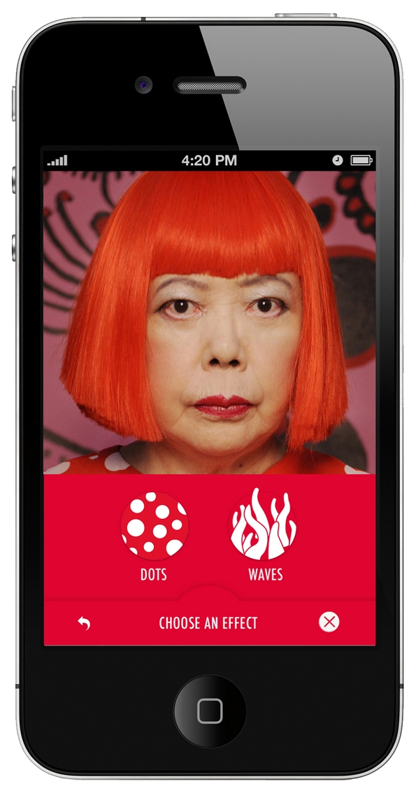 yavoi kusama,malletier,louis vuitton,lvmh,marc jacobs,fashion,designer,art director,directeur artistique,luxe,luxury,collaboration,projet,artistique,application,ipad,iphone,apps,apple,numérique,photographie