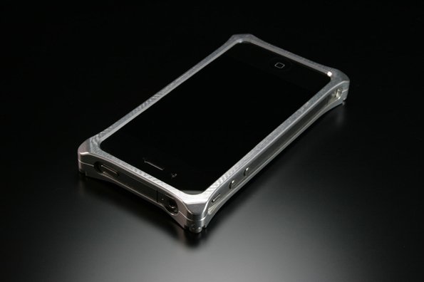 apple,iphone,iphone 4,protection,incace,case,bumper,solid bumper,ichimatsu,aluminium,silver,gold,dock,personnalisation,design,casestyle
