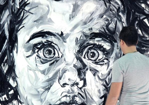 hom nguyen,hom,projet,artist,paris,œuvre,art,exposition,curator,artiste,contemporain,painting,peinture,grand format,format,atelier,enfants,children