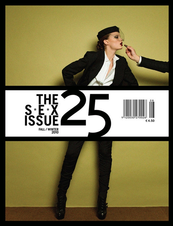 25,magazine,25 magazine,anja rubik,fashion,mode,luxury,culture,arts,femmes,women,sexe,pornchic,porno chic,chic,bi-annuel,bi-annual,edition,paris,haute couture,colette,luisa via roma,galilu,kanye west,abby lee kershaw,photographer,inez van lamsweerde,ellen von unwerth,annie leibovitz,katja rawles,carine roitfeld