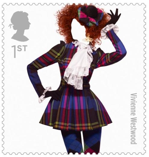 fashion,stamps,timbre,timbres,mode,royail air mail,royal, mail,service,Paul Smith, Westwood, Alexander McQueen,Sølve Sundsbø,numéro,london,fashion,londres