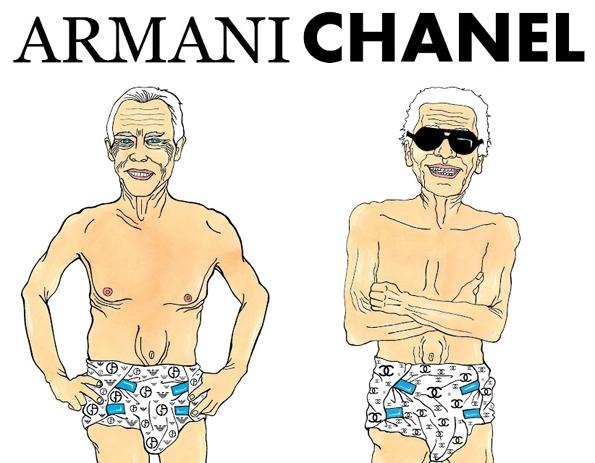 Humor chic,AleXsandro Palombo,fashion,mode,illustrateur,illustrator,ironie,sarcasme,humour,humor,dérision,caricature,italien,italia,italie,italy,milan,paris,fashion creator,fashion designer,Instituto Marangoni