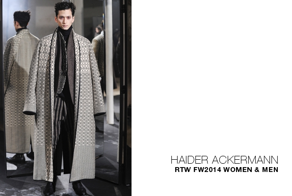 Automne hiver - Fall winter 2014 - Haider Ackermann - Soblacktie ... 90f31f735be3