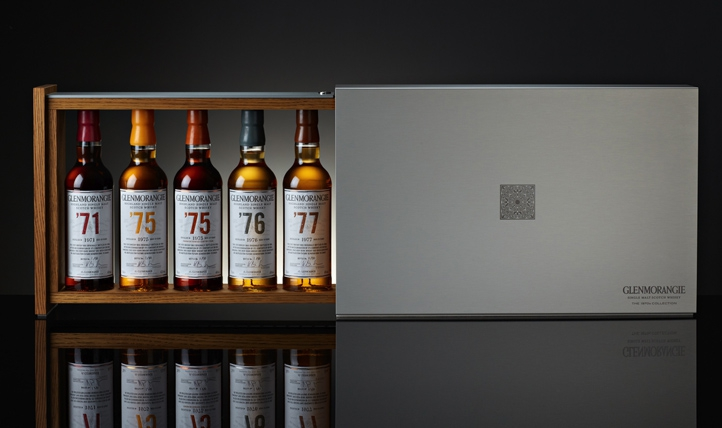 GLENMORANGIE Collection 1970 Coffret ouvert.jpg