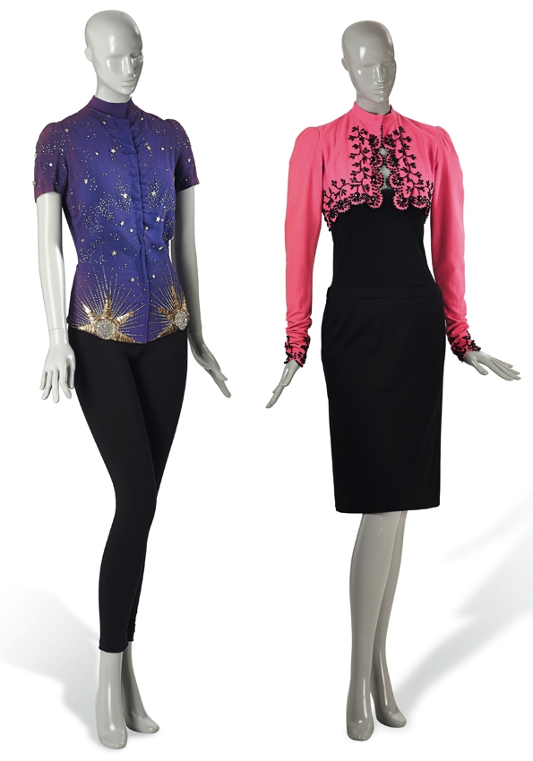 Schiaparelli A pink wool bolero, with jet bead trim, 1940 estimate €12,000-15,000 £11,000-14,000 $16,000-21,000.jpg
