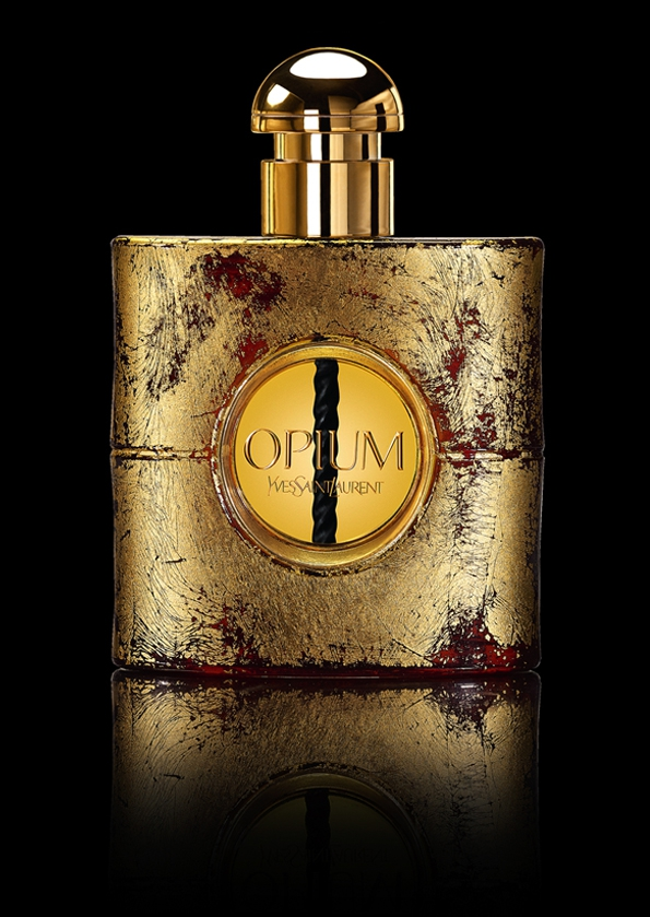 yves saint laurent,saint laurent paris,saint laurent,hedi slimane,fashion,mode,automne,hiver,fall,winter,2013,tendances,trends,parfum,perfum,opium,or,gold,collector,collection,luxe,luxury,noël,rare,édition limitée,limited edition,manuela paul cavallier,doreuse,dorure,artiste