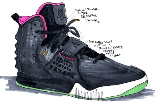 Nike Air Yeezy 2,nike,nike air,yeezy,kanye west,fashion,sneakers,basktet,collaboration,mode,limited edition,édition limité,luxury,paris,fashion,week