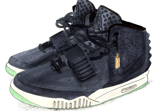 nike air yeezy 2,nike,nike air,yeezy,kanye west,fashion,sneakers,basktet,collaboration,mode,limited edition,édition limité,luxury,paris,week