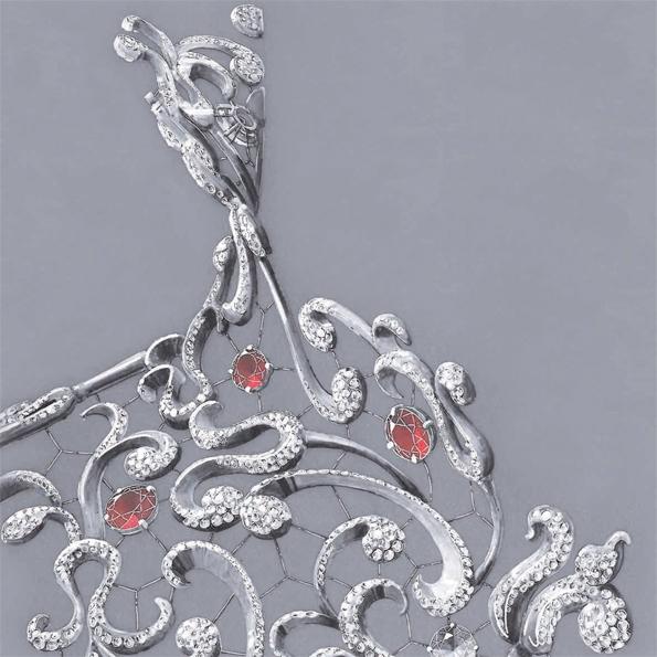 mellerio dits meller,mellerio,haute joaillerie,fine jewellery,high jewellery,joaillerie,joaillier,jewelry,jeweller,place vendôme,rue de la paix,précieux,marie de médicis,edéenne,direction artistique,direction créative,création,or,gold,diamant,émeraude,historique,parrure,sautoir,broche,brooch,collier,perle,couronne,tiare,royale,luxe,luxury
