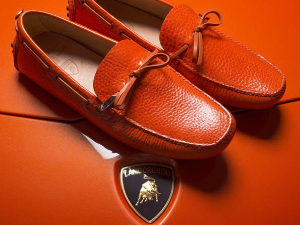 car shoe,prada,gruppo prada,lamborghini,limited,edition,50,anniversary,mocassin,loafer,tassel,luxury,luxe,fashion,blancpain,aventador,gallardo,miura,countach,diablo,espada,marzal,jalpa
