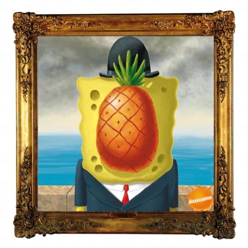 Bob the sponge - Magritte.jpg