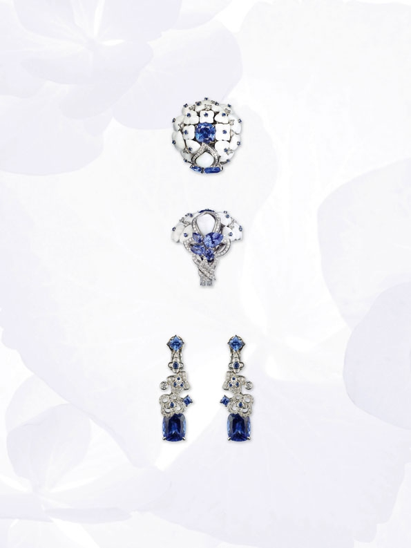 chaumet,hortensia,collection,boucles d'oreilles,bague,ring,cuff,necklace,collier, lvmh, luxe, joaillerie, jewelry,jewellery, diadème, tiare, couronne, diamant, diamonds, or, gold,white gold,or blanc,platine,place vendôme,paris,france,french,blog,magazine
