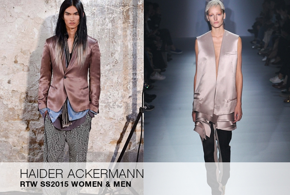 haider ackermann,france,colombie,créateur,fashion designer,designer,mode,luxe,ready to wear,prêt à porter,suit,costume,luxury,trends,tendances,fashion show,défilé,hommes,man,men,menswear,femme,femmes,woman,women,womenswear,printemps,été,spring,summer,2015