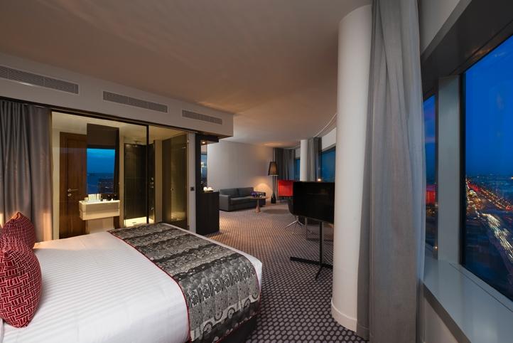 L h tel melia paris la d fense d couvrir l 39 horizon parisien soblacktie - Hotel tendance paris ...