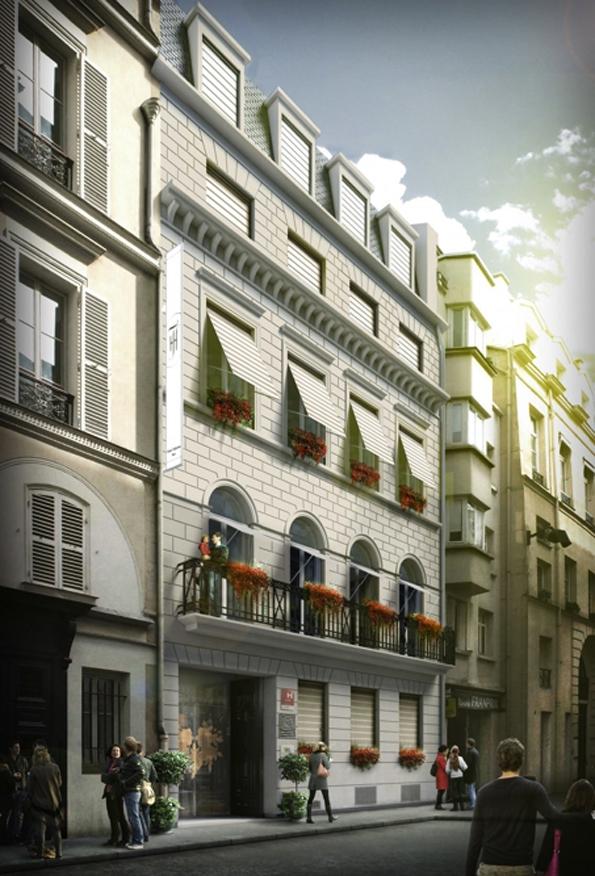 H tel des tuileries paris rive droite intime soblacktie blog magazine - Hotel tendance paris ...