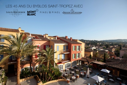 byblos,saint-tropez,anniversaire,anniversary,45 ans,45th,collaborations,luxury,luxe,prestige,srie limite,limited edition,french riviera,cte d'azur,louis roederer,cristal,champagne,champain,jeroboam,gold,montblanc,stylo,plume,pen,laque,coffret,pinel &amp; pinel,malle,malletier,trunk,jaeger lecoultre,jaeger,watch,watches,montre,montres,master compressor extreme tourbillon,master compressor,tourbillon,horlogerie,horology